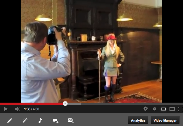 Eventing Magazine Behind The Scenes 'Trot Up Fashion'