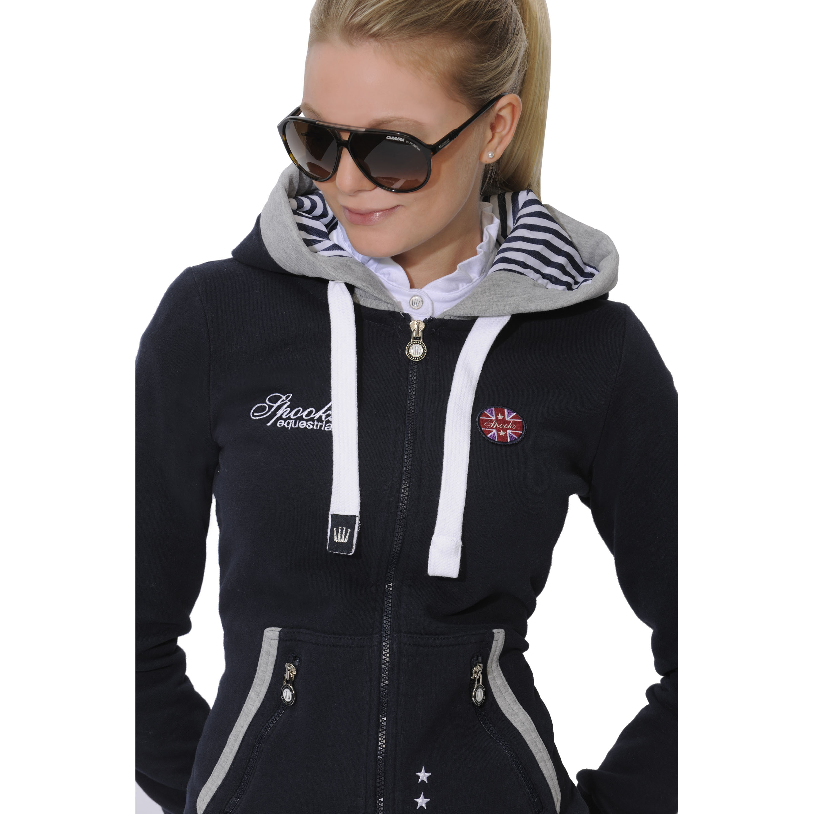 Spooks Robin Hood Navy available through Dressage Deluxe