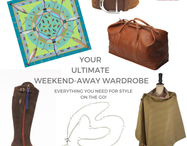 The Ultimate Weekend-Away Wardrobe