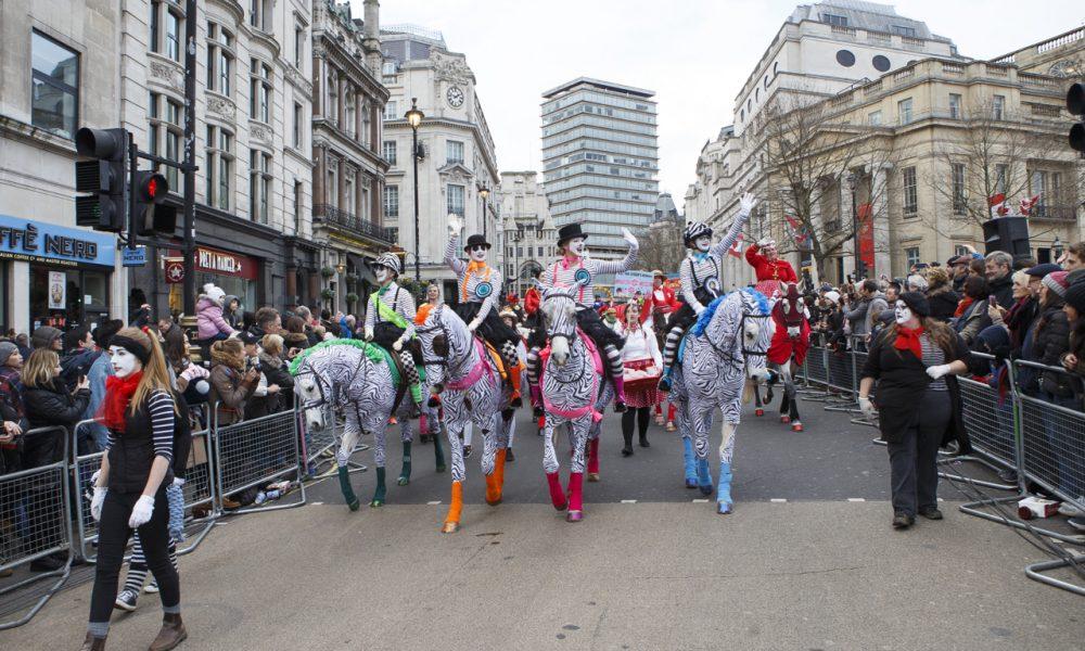 A New Year & A Fabulous London Parade!