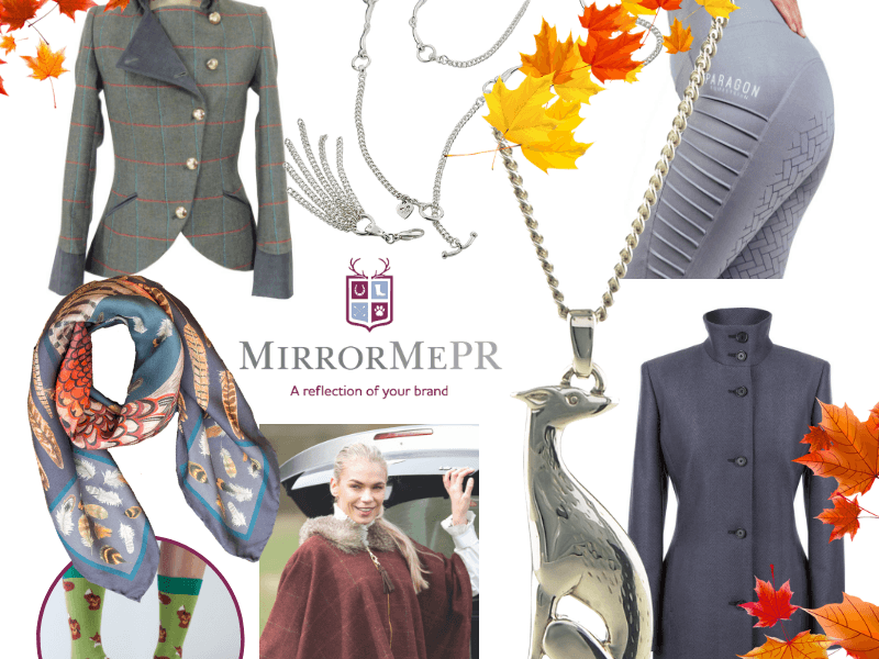 A selection of style trends, put together by MirrorMePR's luxury PR team