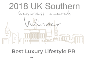 Winners Of The Best Luxury PR Agency 2018