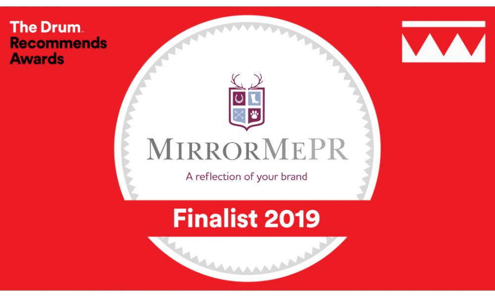 MirrorMePR Are Finalists In Prestigious Awards