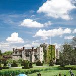 A photo of Hever Castle in the sunshine