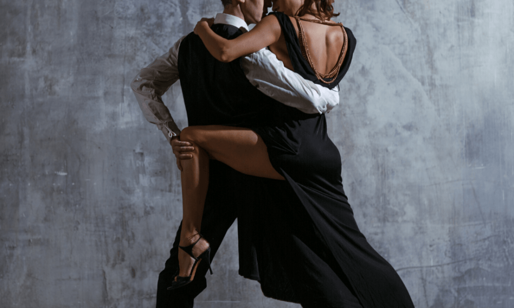 Couple Performing The Tango, a romantic experience for two for Valentine's Day