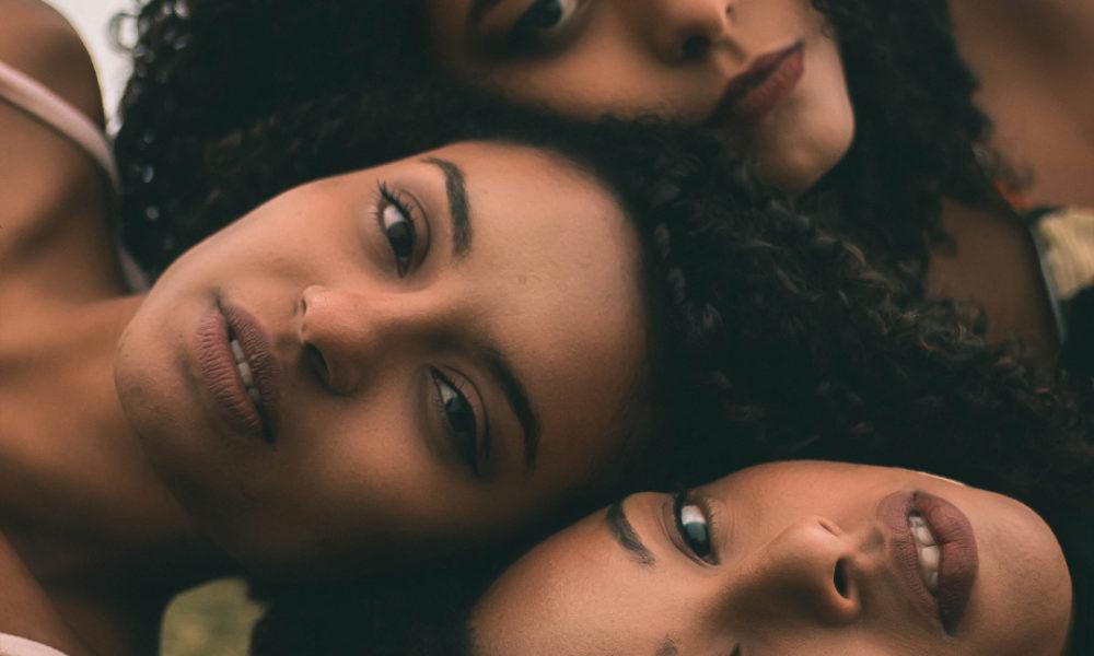 beautiful women in beauty marketing campaign